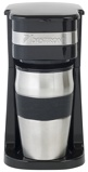 Afbeelding vanBestron ACM111Z Personal Koffiezetter met RVS drinkbeker koffieapparaat (Zwart/roestvrij staal)