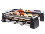 Afbeelding vanFritel FR 2260 Raclette Gourmet Steengrill Antraciet/Zwart