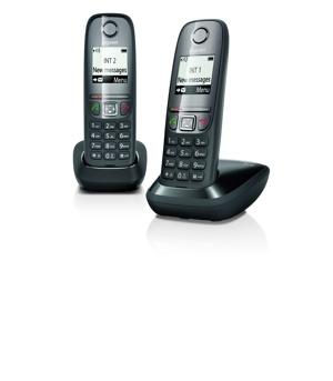 Afbeelding van Gigaset A475 Duo Zwart vaste telefoon