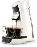 Afbeelding vanPhilips Senseo Viva Café HD6563/00 Wit cup en padmachine