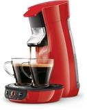 Afbeelding vanPhilips Senseo Viva Café HD6563/80 Rood cup en padmachine