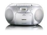 Afbeelding vanLenco SCD 420 draagbare radio/casette en CD speler zilver