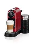 Afbeelding vanKrups Nespresso Citiz & Milk XN7615 Kersenrood cup en padmachine
