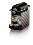 Afbeelding vanNespresso Krups Pixie XN304T Koffiemachine Grijs