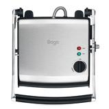 Afbeelding vanSage SGR200 The Adjusta Grill Contactgrill RVS/Zwart