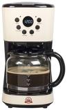 Afbeelding vanBestron Koffiezetapparaat ACM200RE 900 W vintage stijl 1,5 L