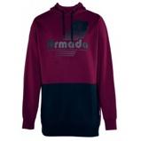 Billede afArmada multiply pullover tech hoodie, burgundy