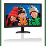 "Afbeelding vanPhilips 243V5LHSB Monitor 24"" Led 16:9 VGA DVI HDM"