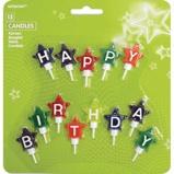 Afbeelding vanAmscan mini verjaardagskaarsjes Happy Birthday 4,1 cm 13 stuks