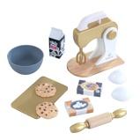 Afbeelding vanKidKraft houten speelgoed bakset Modern Metallics
