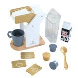 Afbeelding vanKidKraft houten speelgoed koffieset Modern Metallics