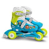 Afbeelding vanDisney verstelbare inlineskates Toy Story 4 blauw mt 27/30