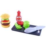 Afbeelding vanKlein hamburgerset 8 delig