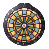 Afbeelding vanLG Imports dartbord Safety met 6 plastic pijlen 35 cm