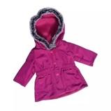 Afbeelding vanAmleg winterjas bordeaux mini mommy paars meisjes 38 41 cm