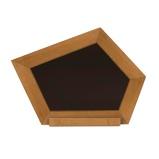 Imagen deAXI Pizarra con madera curvada marrón A031.007.00