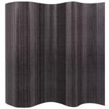 Afbeelding vanvidaXL Kamerscherm grijs bamboe 250x195 cm