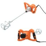 Afbeelding vanvidaXL Betonmixer elektrisch handmodel 6 snelheden 1200 W