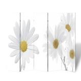 Afbeelding vanvidaXL Kamerscherm inklapbaar bloem 200x170 cm