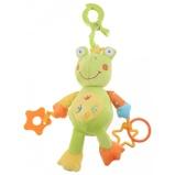 Afbeelding vanEddy Toys knuffel pluche kikker 24 cm