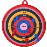 Afbeelding vanTender Toys dartbord met zuignappijlen 7 delig