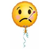 Afbeelding vanAnagram Helium ballon ziekte smiley 43 cm