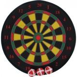 Afbeelding vanToi Toys dartbord klittenband 35 cm 4 delig