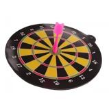 Afbeelding vanLG Imports dartbord magnetisch roze 20 cm