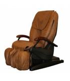 Billede afBrugt massagestol, iCare 700, brunt læder