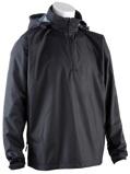 Image of0059 Waterproof Quarter Zip Jacket Black