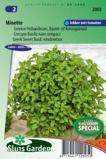 Afbeelding vanKruidenzaad Basilicum (pot) Minette (Ocimum basilicum)