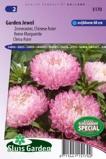 Afbeelding vanBloemenzaad Aster Garden Jewel Rose (Zomeraster)