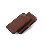 Afbeelding vanDecoded Leather 2 in 1 Wallet Case Apple iPhone 6/6s/7/8 Bruin