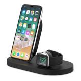 Afbeelding vanBelkin Boost Up Draadloze Oplader met USB A Poort iPhone/Apple Watch Zwart