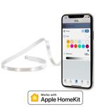 Afbeelding vaneve Light Strip LED Apple HomeKit, 2m uitbreiding, voor woon / eetkamer, kunststof, 24 W, energie efficiëntie: A+, L: 200 cm, B: 1.5 H: 0.4 cm