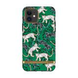 Afbeelding vanRichmond & Finch iPhone 11 Green Leopard