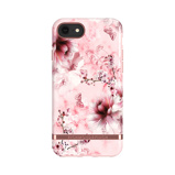Afbeelding vanRichmond & Finch hoesje iPhone 8 / 7 6(s) Pink Marble Floral
