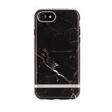 Afbeelding vanApple iPhone 8 / 7 Hoesje Richmond & Finch Zwart Backcover