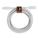 Afbeelding vanBelkin Duratek Plus Lightning naar Usb C Kabel 1.2m Wit datakabel
