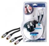 Afbeelding vanHQ stereo RCA kabel 2.5 meter