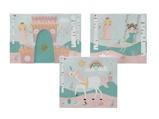 Afbeelding vanFlexa Fairy Tale Prinses Speelgordijn