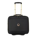 Afbeelding vanDelsey Montrouge Cabin Laptop Trolley Boardcase 15.6'' Black Zachte Koffers