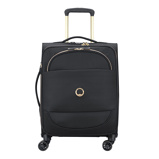 Afbeelding vanDelsey Montrouge Slim Cabin Trolley Case 4 Wheel 55 Expandable Black Zachte Koffers