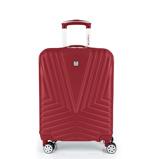 Afbeelding vanGabol Atlanta Cabin Trolley 55 Red Harde Koffers