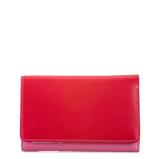Afbeelding vanMywalit Medium Tri Fold Wallet Outer Zip Portemonnee Ruby Dames portemonnees