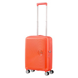 Afbeelding vanAmerican Tourister Soundbox Spinner 55 Exp. Spicey Peach Harde Koffers