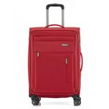 Afbeelding vanTravelite Capri 4 Wheel Trolley M Expandable Red Zachte Koffers