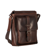 Afbeelding vanLeonhard Heyden Roma Shoulder Bag XS Brown 5365 Laptop Schoudertassen