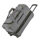 Afbeelding vanTravelite Basics Wheeled Duffle 55cm Expandable Grey/Green Reistassen met wielen