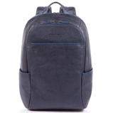 Afbeelding vanPiquadro Blue Square S Matte Small Size Computer Backpack Laptop Backpacks